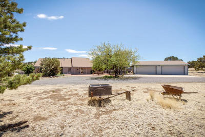 Single Family Home For Sale: 5945 Leupp Road