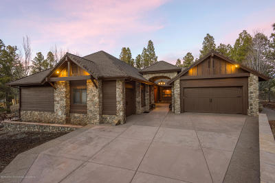 Flagstaff Single Family Home For Sale: 1636 E Morgan Run Drive