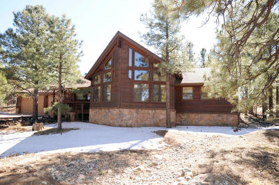 Flagstaff Single Family Home For Sale: 5150 Elk Ridge