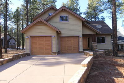 Flagstaff Single Family Home For Sale: 3500 W Lead Rope