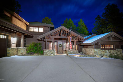 Flagstaff Single Family Home For Sale: 3295 S Tehama Circle