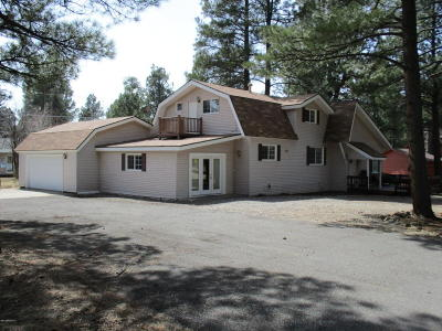 Munds Park Single Family Home For Sale: 675 E Pinewood Blvd