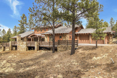 Coconino County Single Family Home For Sale: 1900 E Hardscrabble Court