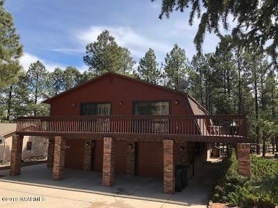 Coconino County Single Family Home For Sale: 2404 N Elk Run St Street