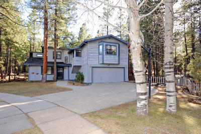 Coconino County Single Family Home For Sale: 2711 N Prescott Road