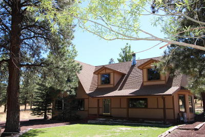 Flagstaff Single Family Home For Sale: 12640 N Copeland Lane