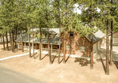 Flagstaff Single Family Home For Sale: 3705 Point Of Pines Way