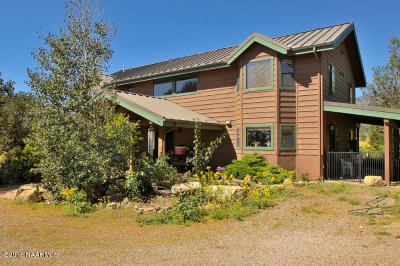 Flagstaff Single Family Home For Sale: 5455 Brandis Way