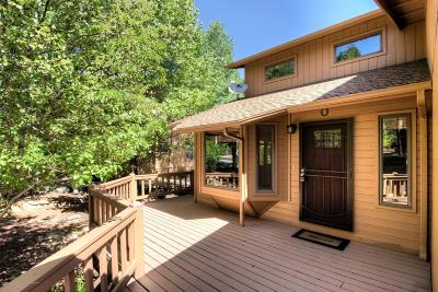 Flagstaff Single Family Home For Sale: 4716 E Hightimber Lane