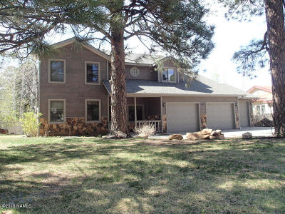Flagstaff Single Family Home For Sale: 899 N Hulet Lane