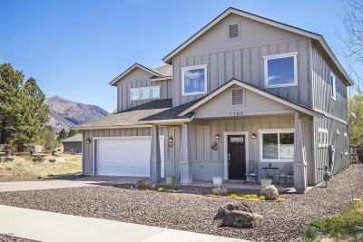 Flagstaff Single Family Home For Sale: 1100 N Pine Cliff Drive