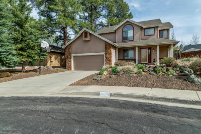 Coconino County Single Family Home For Sale: 6575 E Vail Drive