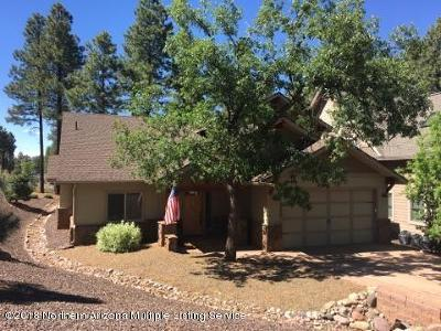 Single Family Home For Sale: 3490 W Corral Gate