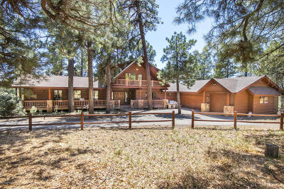 Flagstaff Single Family Home For Sale: 1155 Highland Meadow Road