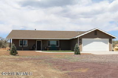 Flagstaff Single Family Home For Sale: 9849 E Jordan Lane