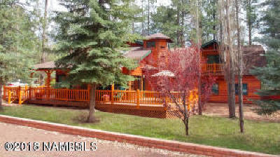 Flagstaff, Bellemont, Munds Park, Parks, Williams Single Family Home For Sale: 605 Stringer Road