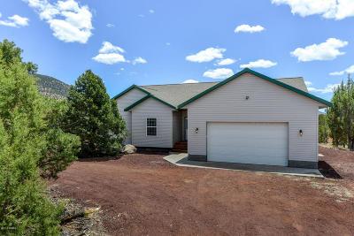 Williams AZ Single Family Home For Sale: $279,000