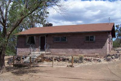 Flagstaff Single Family Home For Sale: 5400 Darling Road