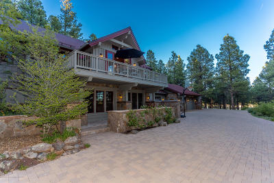 Flagstaff Single Family Home For Sale: 4075 Madera Ranch Road Road