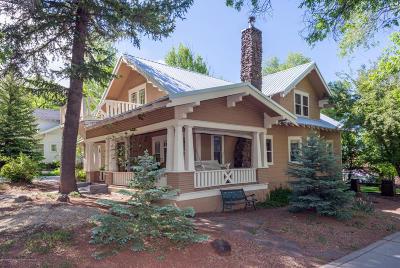Flagstaff AZ Single Family Home For Sale: $990,000
