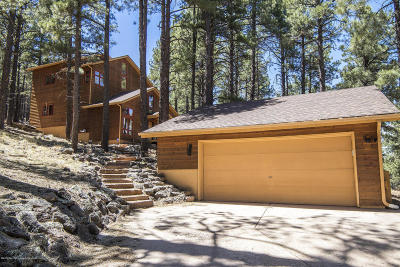 Flagstaff Single Family Home For Sale: 5155 Hidden Hollow Road