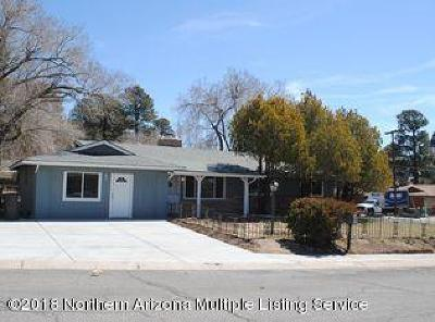 Coconino County Single Family Home For Sale: 3206 N Patterson Boulevard
