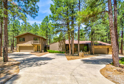 Flagstaff Single Family Home For Sale: 4860 E Mount Pleasant Drive