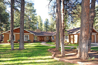 Flagstaff Single Family Home For Sale: 1400 N Rockridge Road