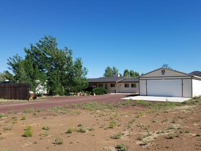Flagstaff Single Family Home For Sale: 7360 Yancey Lane