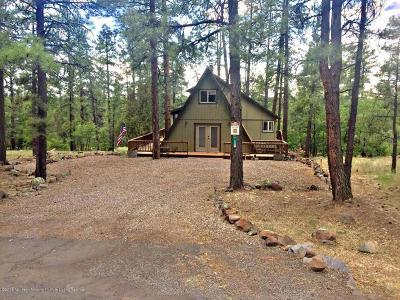 Munds Park Single Family Home For Sale: 17480 S Mescalero Drive