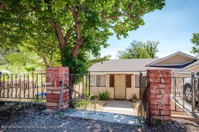 Flagstaff Single Family Home For Sale: 1904 N West Street