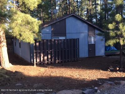 Munds Park Single Family Home For Sale: 865 E Hillside Drive E