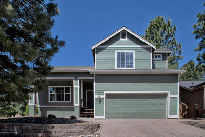 Flagstaff Single Family Home For Sale: 4877 S Bright Angel Trail