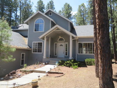 Flagstaff Single Family Home For Sale: 3226 S Debbie Street