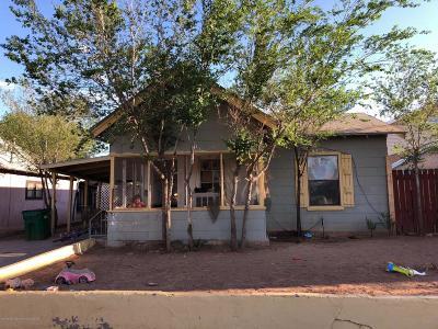 Winslow Single Family Home For Sale: 115 W Elm Street