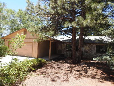 Coconino County Single Family Home For Sale: 2285 E Hemberg Drive