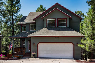 Flagstaff Single Family Home For Sale: 3885 S Box Canyon Trail