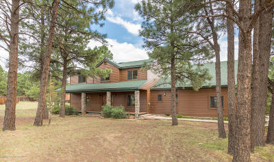 Flagstaff Single Family Home For Sale: 8445 Caballo Way