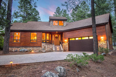 Flagstaff AZ Single Family Home For Sale: $734,510