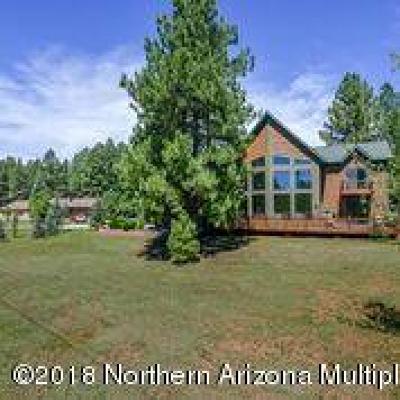 Munds Park Single Family Home For Sale: 25 E Apache Road