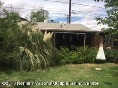 Winslow Single Family Home For Sale: 705 N Winslow Avenue