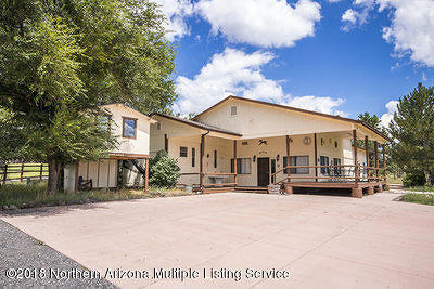 Williams Single Family Home For Sale: 2750 Country Club Road