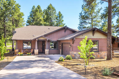 Flagstaff Single Family Home For Sale: 4465 W Braided Rein
