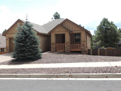 Flagstaff Single Family Home For Sale: 5316 S Azurite Trail