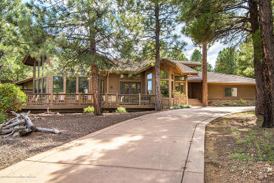 Coconino County Single Family Home For Sale: 2350 Carl Lampland