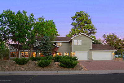 Flagstaff Single Family Home For Sale: 644 N Fox Hill Road