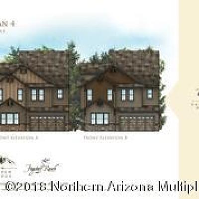 Flagstaff Condo/Townhouse For Sale: Plan 4 W Arabian Trail