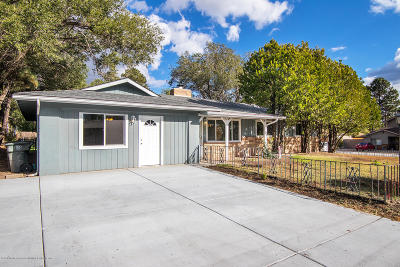 Flagstaff Single Family Home For Sale: 3206 N Patterson Boulevard