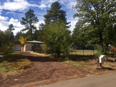 Flagstaff Single Family Home For Sale: 1611 E Arrowhead Avenue