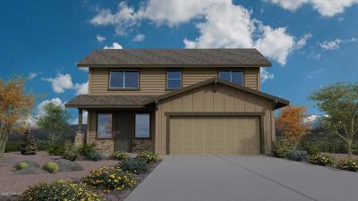 Single Family Home For Sale: 1506 Flagstaff Meadows Plan